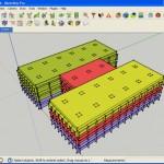 Modelado en 3D del edificio